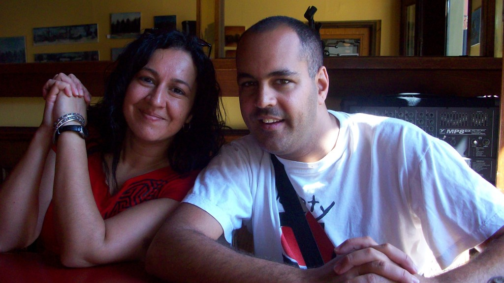 One of my favourite photos of my brother, Ravi, and I.